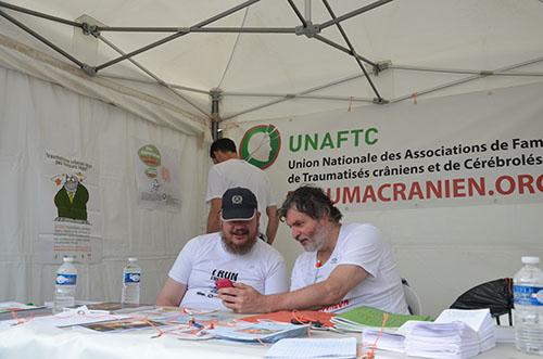 UNAFTC Stand banderole