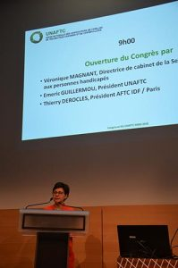 UNAFTC Tribune Congrès