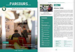 couverture et éditorial de parcours 128